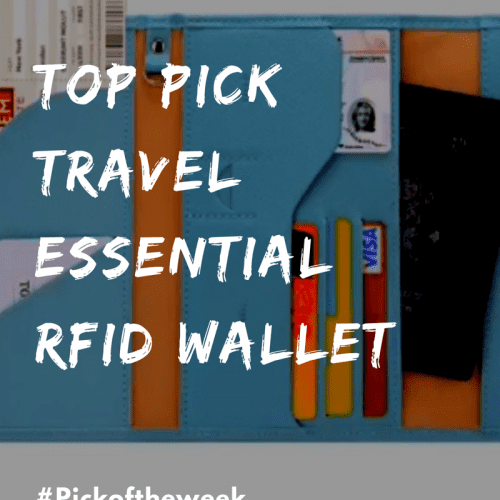 Top Pick Travel Essential RFID Wallet
